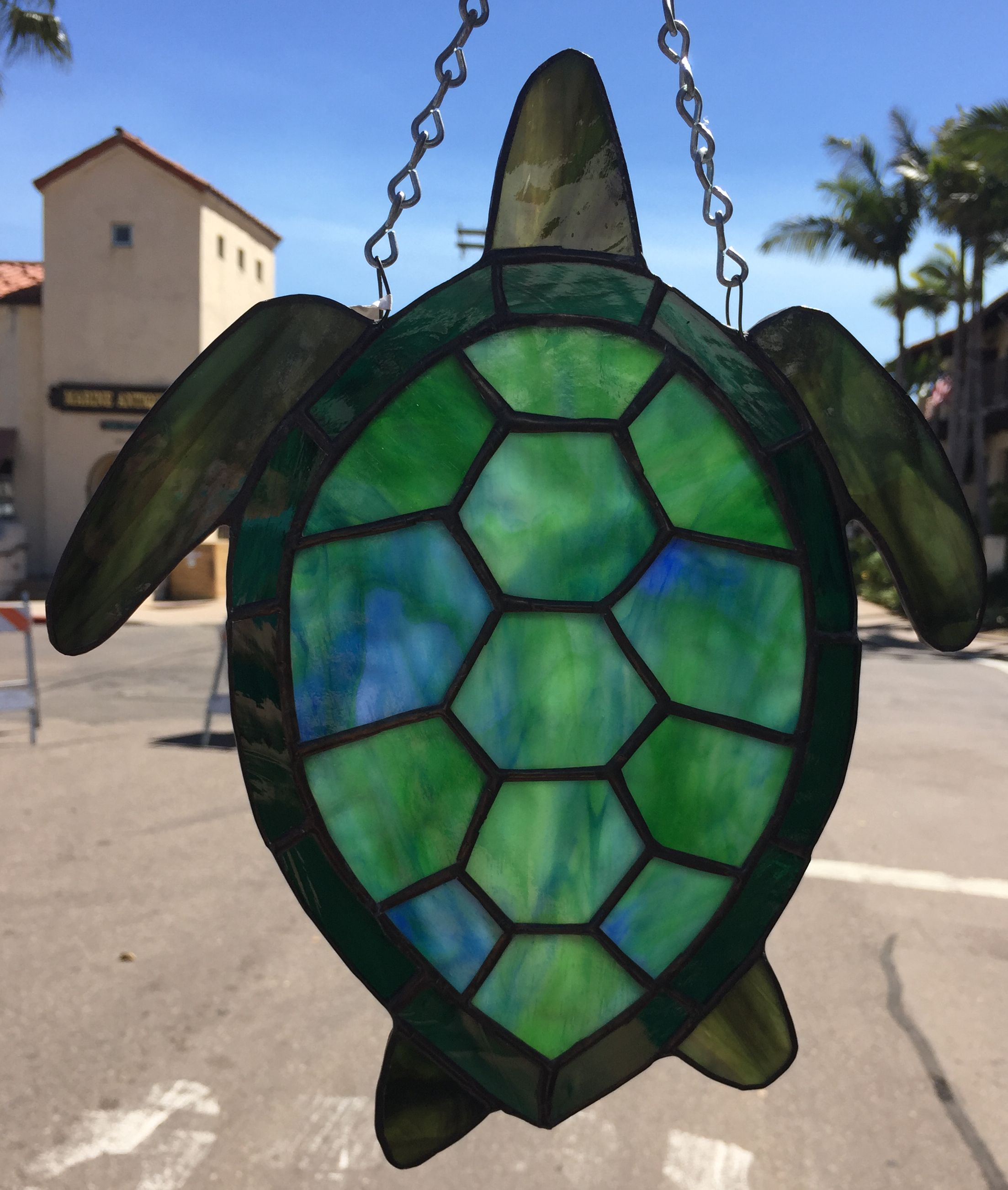 Turtle Sun Catcher